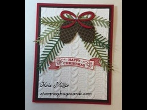Stampin Up Christmas Pines YouTube