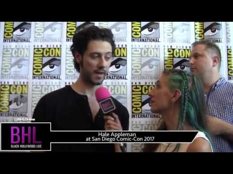 Hale Appleman The Magicians at San Diego ComicCon 2017