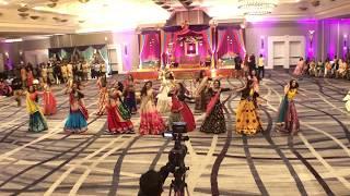 surprise sangeet dance by bride friends