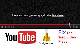 """Solve """"An Error Occurred. Please Try Again Later"""" 