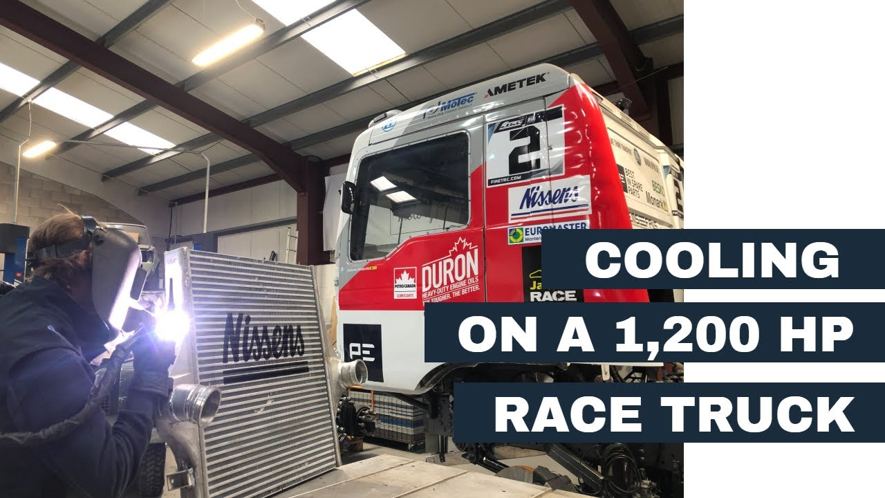 Cooling on a 1200 Horsepower Race Truck - Radiator, Intercooler and Oil Coolers!