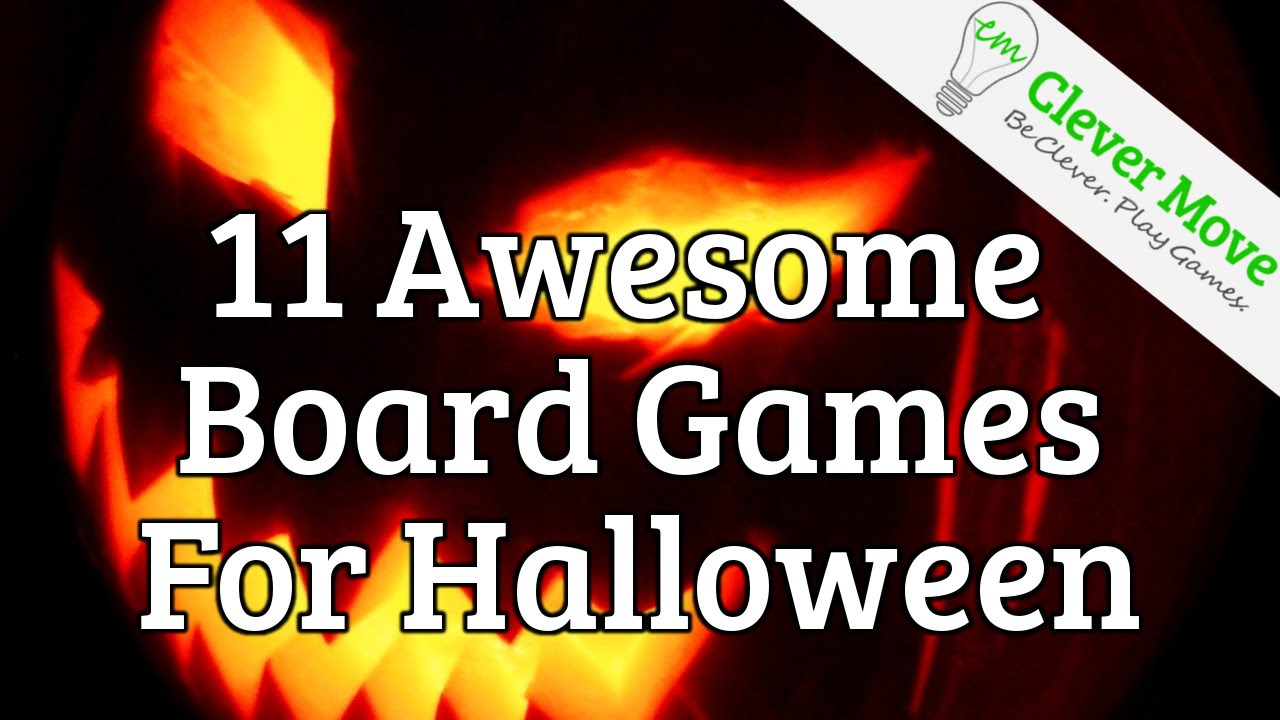 11 Awesome Board Games For Halloween 2015