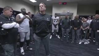 Raiders Locker Room After Playoff Loss to Houston Texans 2017 Playoffs