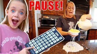 Sneaky Jokes on Mom and Dad (and Friends)! Funny Pause Challenge! Kids Fun TV