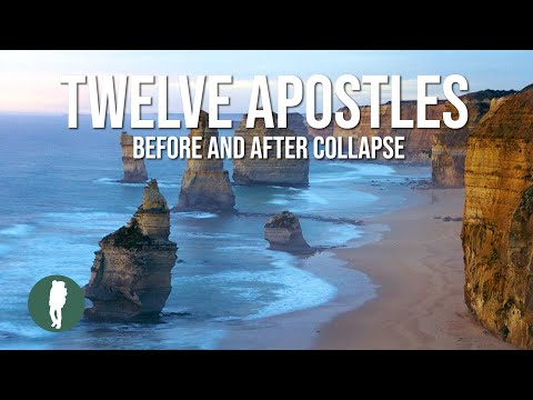 Great Ocean Road, 12 Apostles, Before and After Collapse in HD