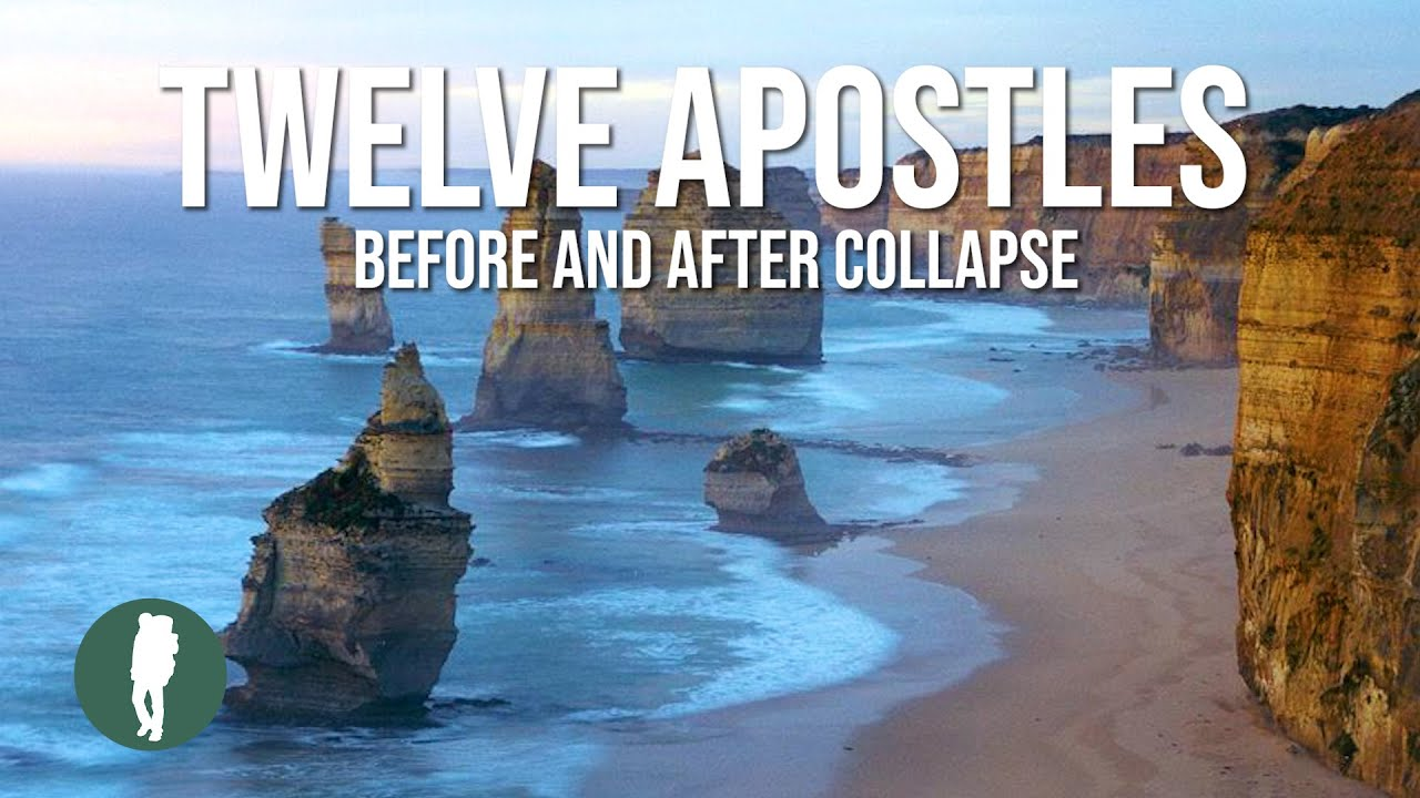 Great Ocean Road, 12 Apostles, Before and After Collapse ...