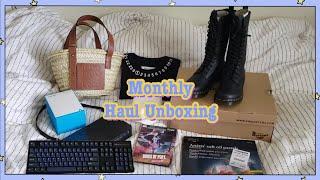 언박싱 하울 Unboxing Haul Vlog :: 로…