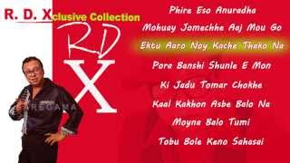 R D Xclusive Collection Jukebox | Bengali Songs | R D Burman Hits Songs | RDX