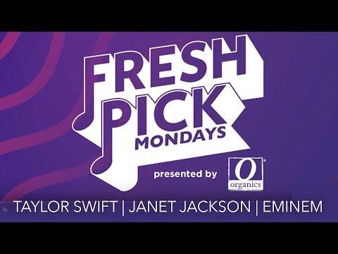 Taylor Swift + Eminem + Janet Jackson | Fresh Pick Mondays