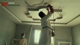 gypsum board false ceiling design