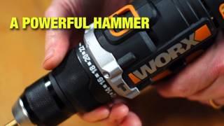 Worx WX372 20V Max Combi Drill