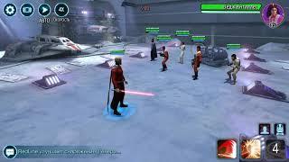 Swgoh Malak solo vs Rebels.