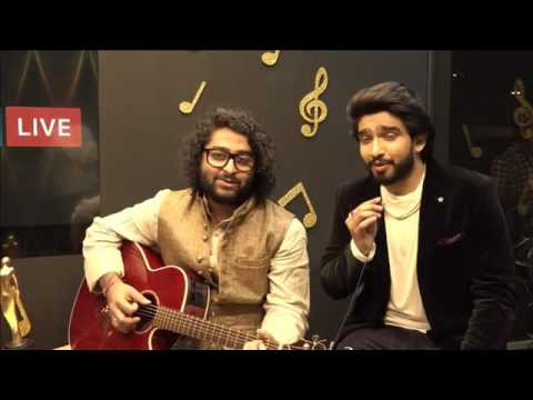 Arijit Singh sings with Amaal Malik and Papon at the 9th Royal Stag Mirchi Music Awards | #RSMMA