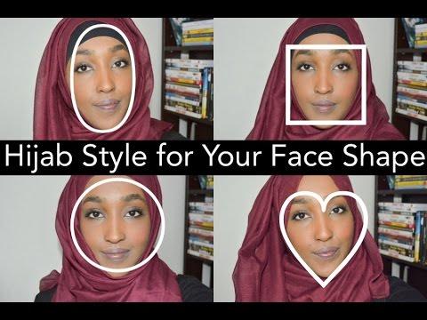 hijab for your face shape hanna mk youtube. Black Bedroom Furniture Sets. Home Design Ideas