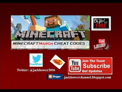 MINECRAFT Cheat Codes March 2017 from YouTube · Duration:  12 minutes 1 seconds