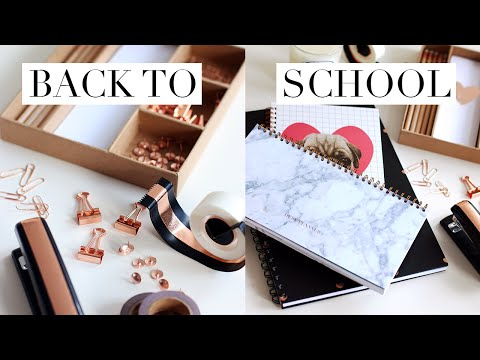 BACK TO LAW SCHOOL/UNIVERSITY STATIONERY & SCHOOL SUPPLIES HAUL + GIVEAWAY