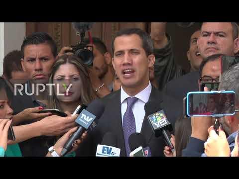 Venezuela: EU Special Advisor Iglesias meets Guaido in Caracas