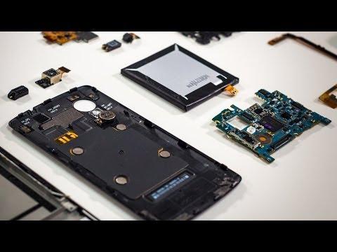 What's Inside the Google Nexus 5 Smartphone