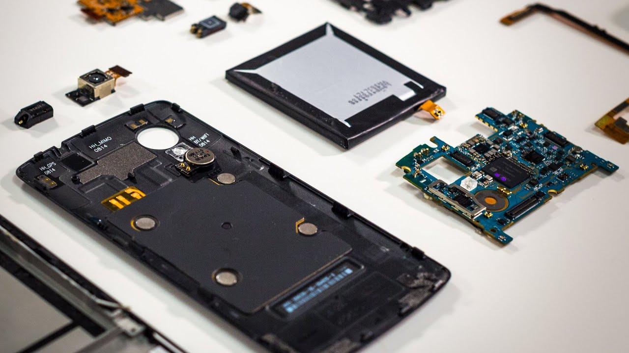 what s inside the google nexus 5 smartphone [ 1280 x 720 Pixel ]