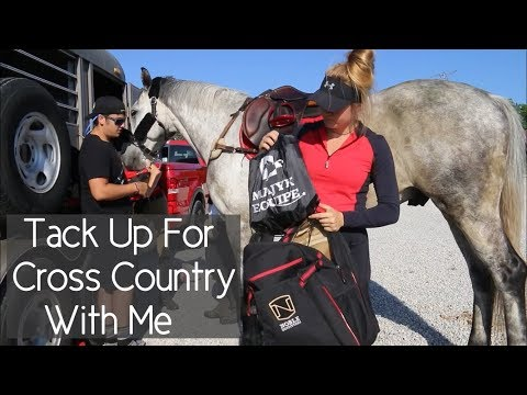 How I Tack Up And Get Ready For Cross Country!