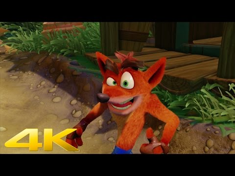 Crash Bandicoot Remastered Trailer PS4  4K  Poster