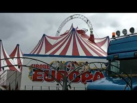Cirque EUROPA Circus - Chapiteau et Zoo aux environs de Paris - août 2016