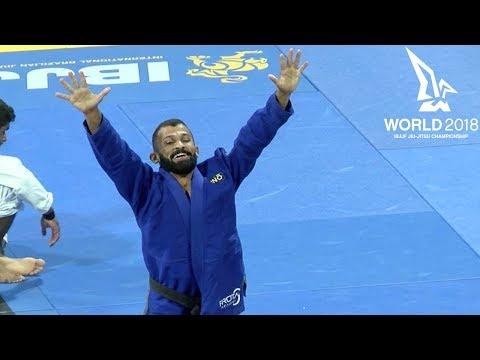 Bruno Malfacine vs Rodnei Barbosa / World Championship 2018