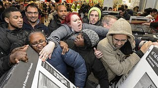 The Craziest Black Friday Horror Stories Ever! | What's Trending Originals!