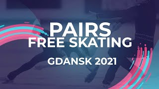 Polina KOSTIUKOVICH Aleksei BRIUKHANOV RUS PAIRS FREE SKATING Gdansk 2021 JGPFigure