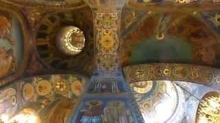 Inside The Church Of Our Savior On Spilled Blood - Saint Petersburg, Russia.