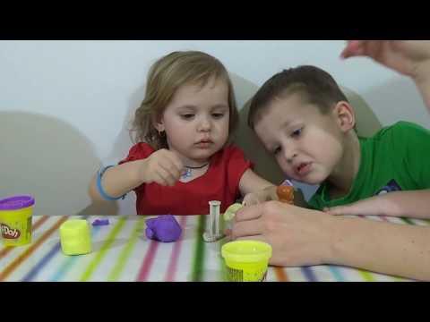 Принцесса София набор пластилина ПлейДо Sofia the first Play-Doh set playing toys doll