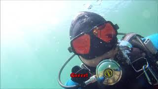 Underwater treasure hunting   Scuba detecting   Minelab excalibur II
