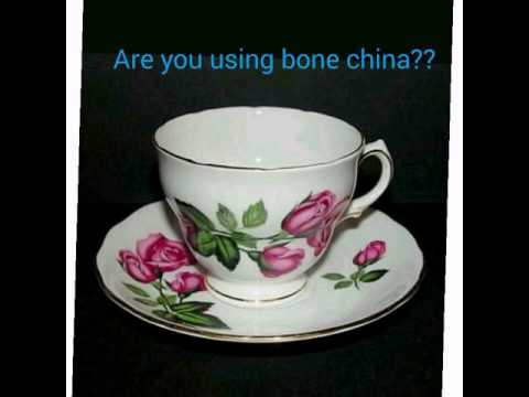 Vegetarians....Stop Using Bone China Utensils
