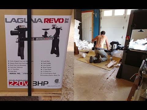 Unboxing And Trying Laguna Revo 24/36