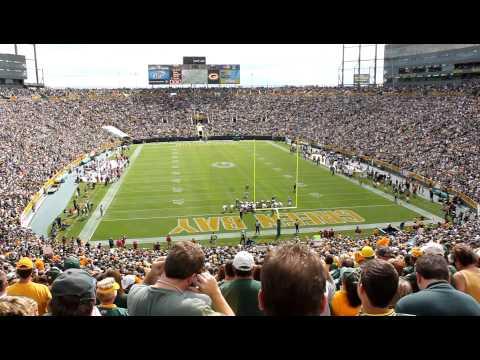 Packers score TD at Lambeau Field