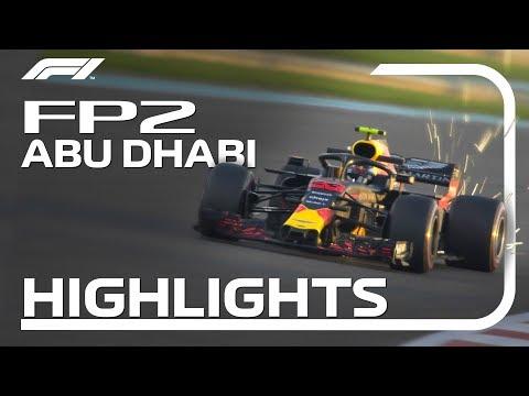 2018 Abu Dhabi Grand Prix: FP2 Highlights