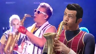 Repeat youtube video We Are Number One but it's co-performed by Epic Sax Guy