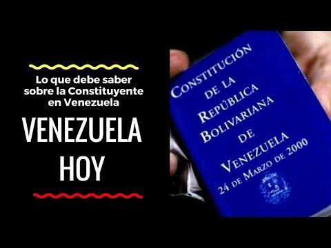 Lo que debe saber sobre la Constituyente en Venezuela