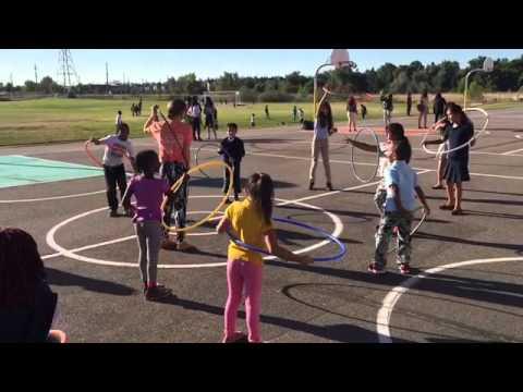 Place Bridge Academy, K-8 Hula-Hoop Celebration Day September 2015