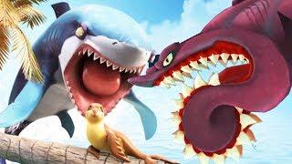 World Boss vs Shark BUZZ The Helicoprion - Hungry Shark World