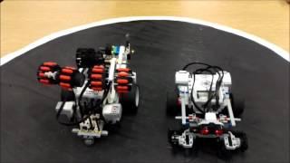 """LEGO EV3 Sumo Bot Challenge Compilation"""