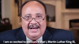 Martin Luther King III endorses Andrew Yang for Mayor of New York City