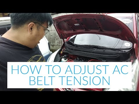 DIY HOW TO ADJUST AC BELT TENSION FOR HYUNDAI EON