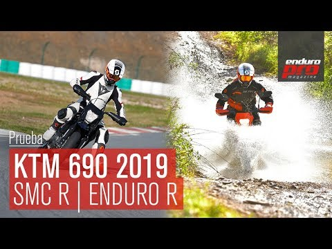 ¡Probamos las nuevas KTM  Enduro R y KTM  SMC R!