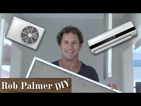 How to Clean AC Filters | DIY Tip