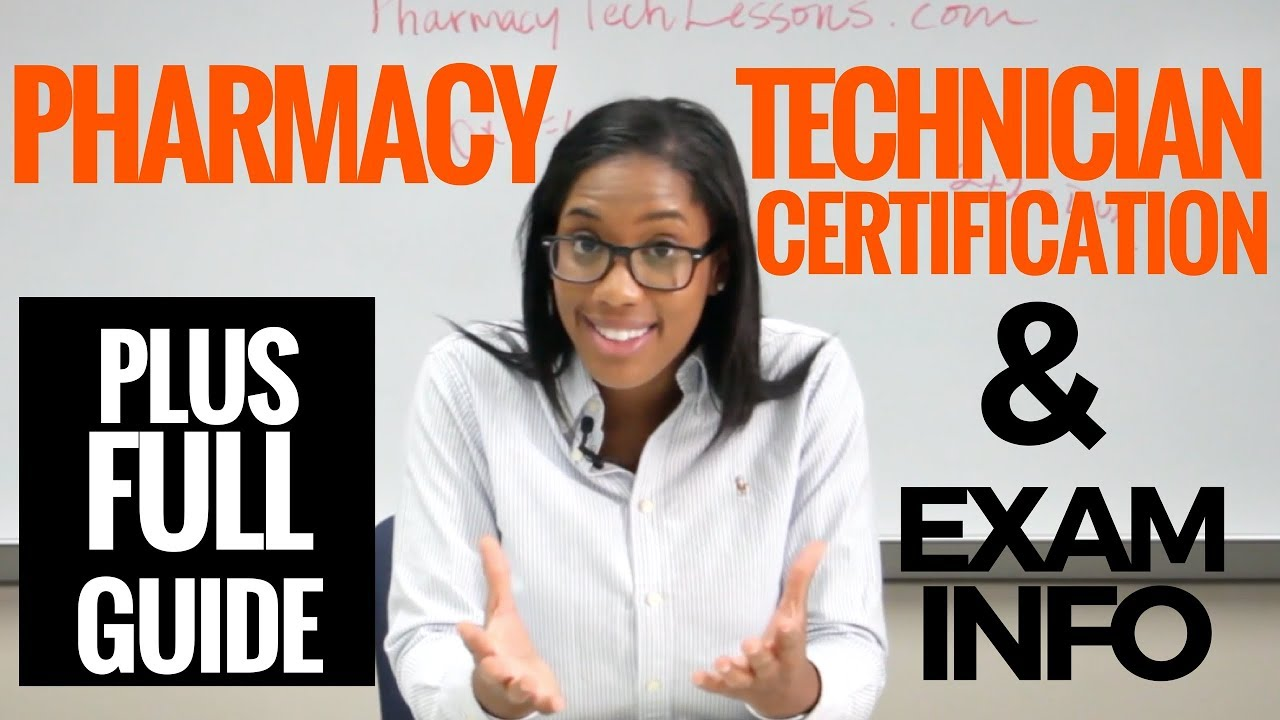 Pharmacy Technician Certification Exam Review All About The Ptcb