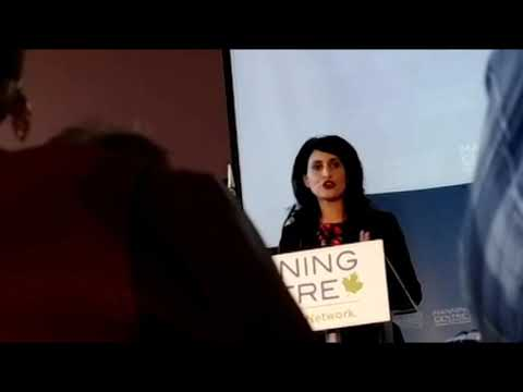 Alberta MLA Leela Aheer Natural Resources Speech at the Manning Center