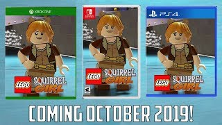 Lego Squirrel Girl: Marvel Rising Announced, Coming October 2019!
