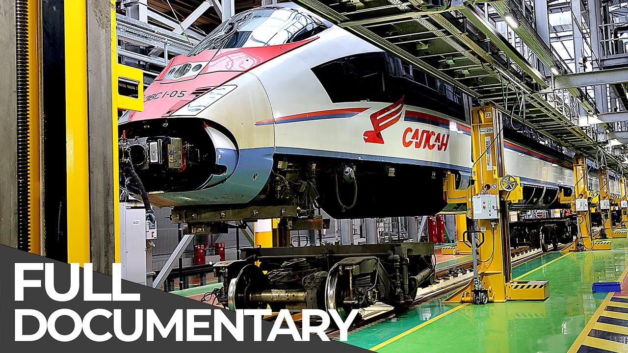 World's Longest High-Speed Train Heavy Maintenance | Mega Pit Stops | Episode 2 | Free Document