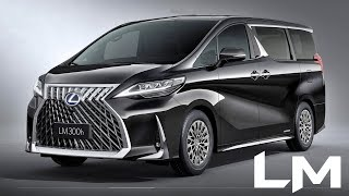 2020 Lexus LM Luxury Minivan - interior Exterior and Drive